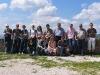 Gruppenfoto auf der Italienreise