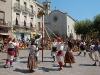 Tanzeinlage einer folkloristischen Gruppe bei den Festivitäten