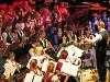 """Klarinetten und Bläser aus dem großen Blasorchester bei """"Die Planeten"""" geleitet von Konrad Sepp"""