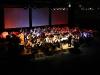 """Das große Blasorchester bei """"Die Planeten"""" dirigiert von Konrad Sepp"""