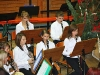 Klarinettistinnen aus dem Nachwuchsblasorchester beim Adventskonzert