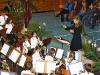 Sonja Unglaub dirigiert zum ersten Mal den Nachwuchs beim Adventskonzert