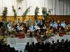 Konrad Sepp und der Nachwuchs beim Adventskonzert 2009