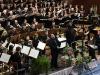 Das Orchester dirigiert von Herrn Merl