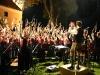 Jubel beim Open Airkonzert 2005 dirigiert von Konrad Sepp