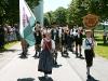Marsch bei Umzug am Festwochenende 2005