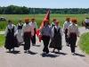 Basken nach dem Marsch
