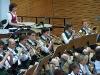 Die Trompeten und Posaunen des Symphonischen Blasorchesters