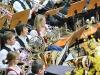 Musiker mit Hörnern