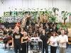 Gruppenfoto: von vorne links: Florian Schnabel, Wiebke Schütz, Konrad Sepp, Irmengard Kunz-Riemann, Konrad Sepp, Roland Friedrich
