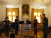 6 ...klassisches Quartett mit Flöte, Oboe, Klarinette und Fagott