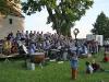 """Applaus beim Open Air""""Mit der Tuba nach Kuba"""" vor der Leonhardikirche"""