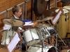 Jugendlicher am Schlagzeug