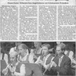 Adventskonzert 2003 -Bericht- (Münchner Merkur, 16.12.2003)