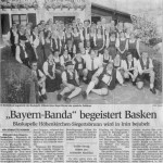Spanienreise 2003 -Bericht- (Münchner Merkur, 18.9.2003)