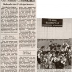 Jubiläumsjahr -Artikel-  (Münchner Merkur, 12.6.2005)