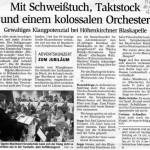 Adventskonzert 2005 -Ankündigung- (Münchner Merkur 1, 10.12.2005)