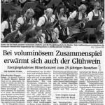 Adventskonzert 2005 -Bericht- (Münchner Merkur, 13.12.1005