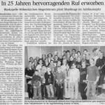 Jubiläumsjahr 2005 -Artikel- (Münchner Merkur, 15.1.2005)