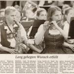 Jubiläumsfestwochenende 2005: OpenAir -Bericht- Münchner Merkur, 21.6.2005