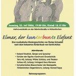 "Sonderkonzert ""Elmar, der kunterbunte Elefant"" 2007"
