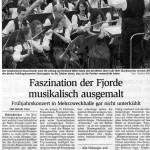 Frühjahrskonzert 2006 -Bericht- (Münchner Merkur, 2006)