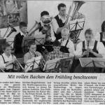 Jugendhoagartn 2006 -Bericht- (Münchner Merkur, 21.3.2006)