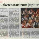 Adventskonzert 2007 -Bericht- (Münchner Merkur, 17.12.2007)