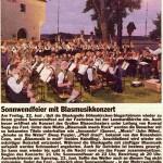 Sonnwendfest 2007 -Bericht- (Hallo, 30.6.2007)