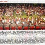 Sonnwendfest 2007 -Bericht- (Münchner Merkur, 27.6.2007)