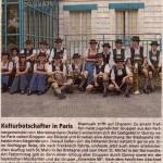 Frankreichreise 2008(Münchner Merkur, 18.7.2008)