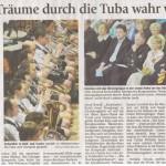 Frühjahrskonzert 2008 -Bericht- (Münchner Merkur, 19.3.2008)