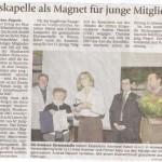 Mitgliederversammlung 2008 (Münchner Merkur, 26.2.2009)