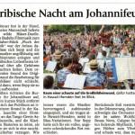 Sonnwendfest 2008 (Münchner Merkur, 24.6.2008)
