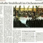 Adventskonzert 2009 -Bericht- (Münchner Merkur, 16.12.2009)