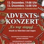 """Adventskonzert 2009 """"Es war einmal … – Märchen u. Sagen"""""""