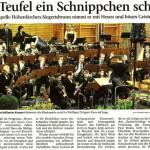 Frühjahrskonzert 2009 (Münchner Merkur, 7.4.2009)