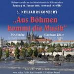 """Neujahrskonzert 2009 """"Aus Böhmen kommt die Musik"""""""