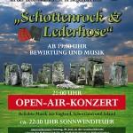 """Open-Air Konzert 2009 """"Schottenrock & Lederhose"""""""