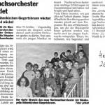 Gründung des Nachwuchsorchesters (Hallo, 26.11.2009)