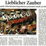 Neujahrskonzert 2009 (Münchner Merkur, 20.1.2009)