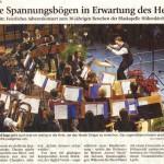 Adventskonzert 2010 -Bericht- ( Münchner Merkur, 16.12.2010)