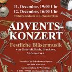 """Adventskonzert 2010 """"Festliche Bläsermusik"""""""