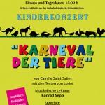 """Kinderkonzert 2010 """"Karneval der Tiere"""""""
