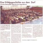 30-jähriges Jubiläum 2010 -Rückblick- (Hallo, 25.11.2010)