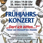 """Frühjahrskonzert 2010 """"Darf ich bitten?-Tänze"""""""