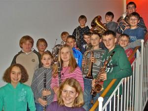 2010 Nachwuchsblasorchester der Blaskapelle-Höhenkirchen-Siegertsbrunn