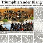 Neujahrskonzert 2011 (Münchner Merkur, 18.1.2011)