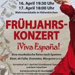 "Frühjahrskonzert 2011 ""¡Viva España!"""