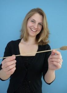 Dirigentin des Großen Blasorchesters: Sonja Unglaub